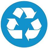 recycle logo in circle small
